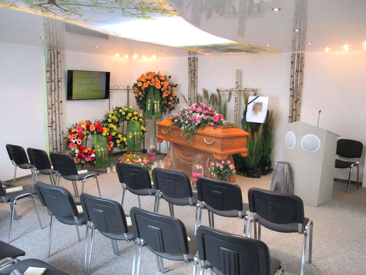 Birkenkapelle - Bestattungs-Institut Dieter Raubinger