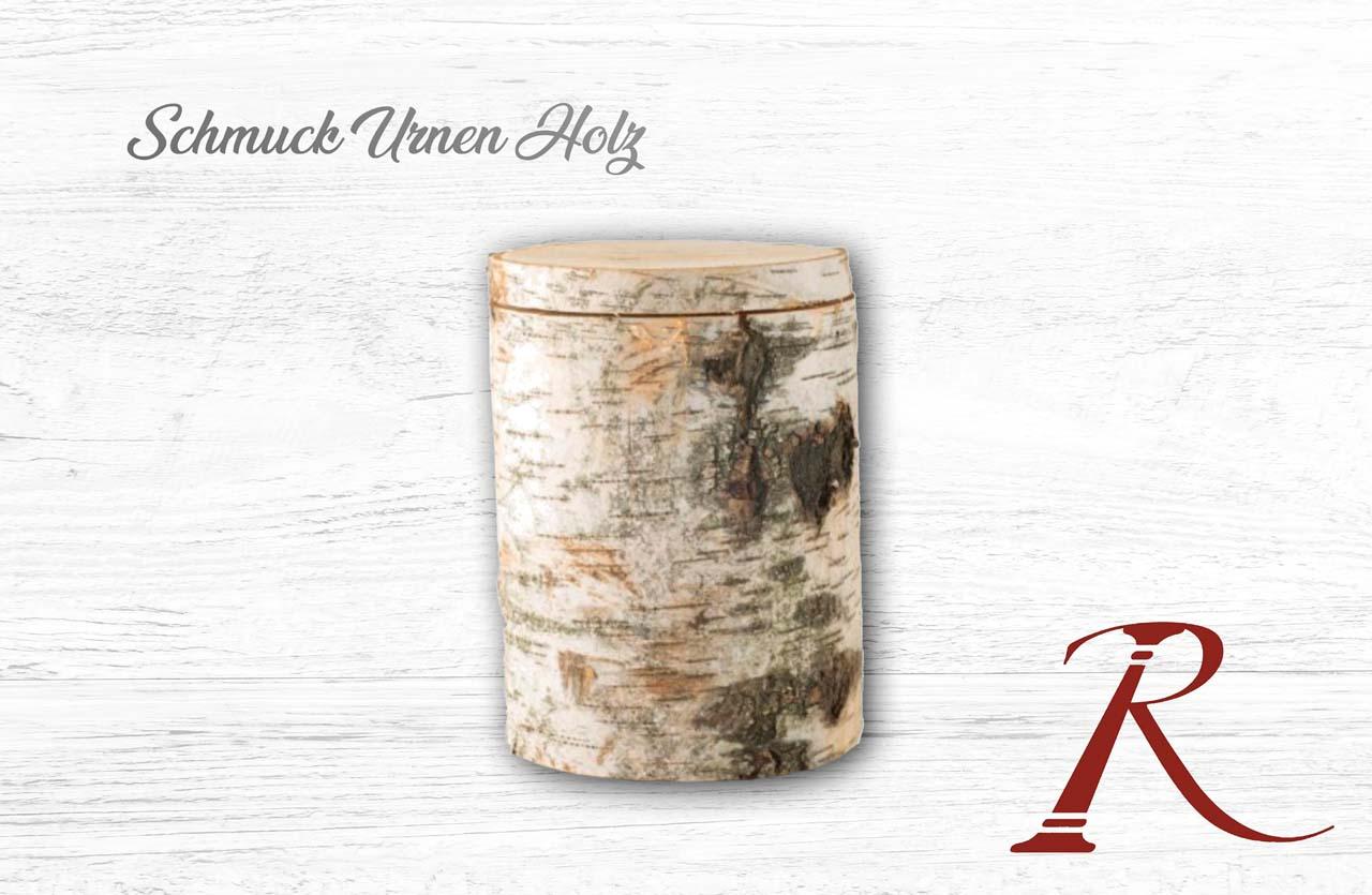 Schmuck Urnen Holz